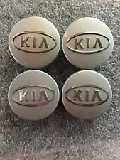 KIA WHEEL SILVER CENTER CAP HUB CAPS ONE SET OF 4 OEM 52960-2F000/100 #4