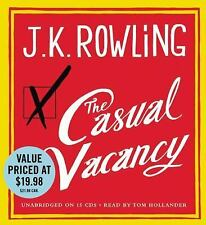 The Casual Vacancy on CD by JK Rowling