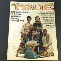 VTG True Magazine January 1969 J. Edgar Hoover, Geishas of Travel Age, Newsstand
