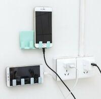 Supporto universale adesivo montaggio a muro per  telefono multifunzione 0087