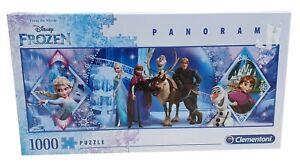 CLEMENTONI Disney Frozen Movie Panorama Jigsaw Puzzle 1000 Piece 98 x 33 cm
