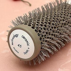 Handy Hair Dress Brush Ceramic Iron Round Comb Salon Barber Styling Hairdressing