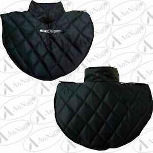 Medieval Neck Armor Padded Arming Cotton Gorget Reenactment LARP Faire Cosplay