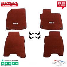 Genuine Honda Civic Type-R FN2 Premium Carpet Mats 2008-2011