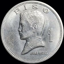 1972 Philippines 1 Piso (Peso) KM #203 Foreign World Coin Jose Rizal