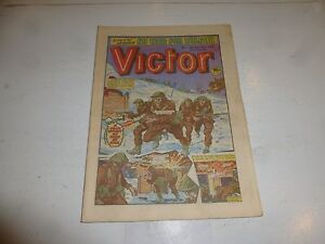 VICTOR Comic - Issue 1168 - Date 09/07/1983 - UK Paper Comic