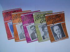 Vintage 1945 1946 Writer's Guide, 5 booklets, Comfort Press, short articles