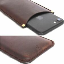 genuine leather Case for apple iPhone 7 / 6 6s thin wallet cover slim Retro