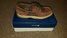 Boys's Sperry Top Sider Boat Shoes (Size 5)