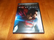 MAN OF STEEL Superman Two-Disc Special Edition DC Superhero DVD SEALED NEW