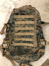 USMC Marine ILBE MARPAT 3 Day Assault Pack MOLLE GEN II - Repaired