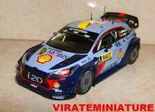 HYUNDAI I20 WRC RALLYE CATALUNYA 2017 ANDREAS MIKKELSEN IXO 1/43
