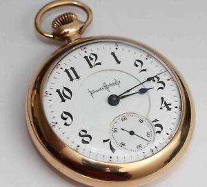 1904 ILLINOIS 18 Size Antique Pocket Watch - EXCELLENT