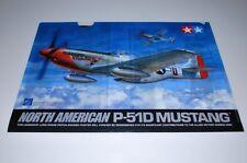 TAMIYA P-51D MUSTANG 60322 *PARTS* A4 PLASTIC FOLDER 1/32