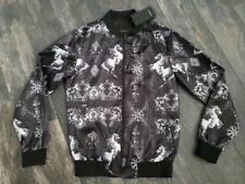Zara Graphic Bomber Jacket size Medium