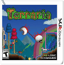 3DS NINTENDO Terraria 505 Action Adventure Games