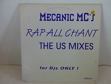 "MAXI 12"" MECANIC MC 'S Rap all chant PROMO 2641"