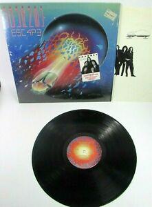 Journey Escape 1981 Vinyl LP ORIG 1st Pressing Masterdisk Shrink Hype Sticker