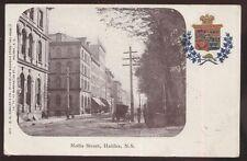 Postcard HALIFAX Nova Scotia/CANADA  Hollis Street Business Storefronts 1904