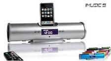 iMusic Speaker + FM Radio + LCD Alarm Clock for iPhone 3G - iPhone 4 - iPod