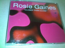 ROSIE GAINES - CLOSER THAN CLOSE - OLD SKOOL DANCE CD SINGLE