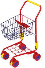 Chariot de courses de Métal pour le magasin jouets Dès 3 ans 42x31x61cm NEUF