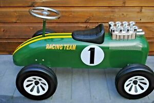 LOTUS Racing Team No:1 V8 Leg POWERED RIDE ON Metal CAR 1st Step for F1 DRIVER