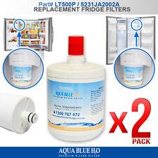 2x LG  5231JA2002A LT-500P WATER FILTER  Compatible GC-P197WFS GR-G227TVS