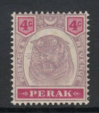 Malaya-Perak 1895 Sg69 - 4c purple & carmine - lightly mounted mint