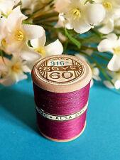 713B / Espléndida Bobina Hilo Alsa para Bordado N º 60 Rosa Fucsia Oscuro º 917