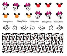 Nail Art Decals Transfers Stickers Mickey & Minnie Mouse (DA380)
