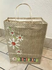 Vintage DISNEYLAND 1965 Walt Disney Productions Triangle Bag Co. Paper Bag