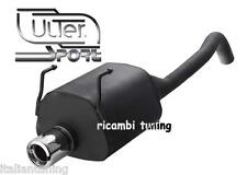 FIAT Panda 1.1 - 1.2 - 1.3Mj Scarico Sportivo Omologato Marmitta uscita 100 mm