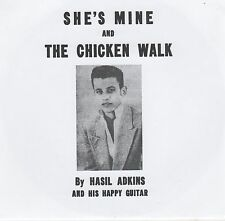 ROCKABILLY REPRO: HASIL ADKINS – CHICKEN WALK / SHE'S MINE - AIR w/ PIC SLEEVE