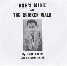 ROCKABILLY REPRO: HASIL ADKINS – CHICKEN WALK / SHE'S MINE - AIR w/ PIC SLEEVE