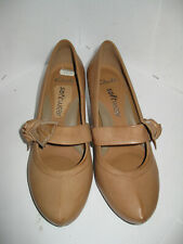 Clarks Softwear Womens Brown Leather Heels/Pumps/Court Shoes Size UK 4