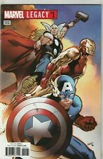Marvel Legacy #1 Greg Land Variant Captain America Iron Man Thor 2017 (NM)