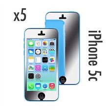 Iphone 5c Mirror Screen Protector & Cleaning Cloth x 5