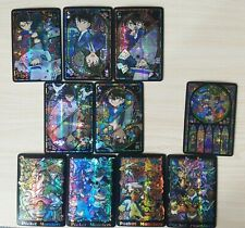 Conan Monster Colored Golden Flash Cards 10Pcs Anime Gift Limit