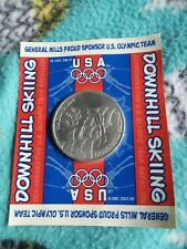 Olympics 1998 General Mills Downhill Skiing Collector Coin