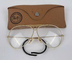 Vtg Ray Ban Clear Shooting Glasses Sunglasses