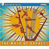 Harrison BIRTWISTLE Mask of Orpheus 3 CD set BBC SO Davis Brabbins