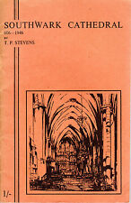 "CANON T.P.STEVENS - ""SOUTHWARK CATHEDRAL 606-1946"" - SURREY FINE ART PRESS (nd)"