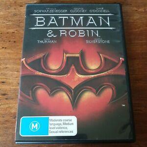 Batman & Robin DVD R4 Like New! FREE POST George Clooney