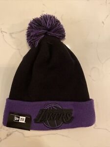 Lakers New Era Pom Hat