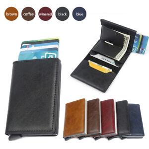 Wallet For Men Slim Mini Aluminium RFID Blocking Credit Cards Holder Purse