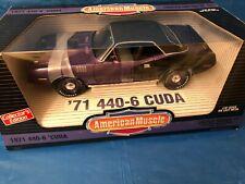 RARE 1971 PLYMOUTH 440-6 CUDA 1/18 MOPAR SERIES # 7 SUPERCAR COLLECTIBLES