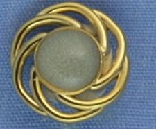 13mm Gold / Pearl Shank Button