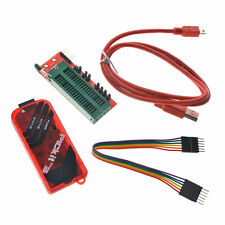For PICKit 3 Kit Programmer with USB cable, wires Pic Kit 3 and ICSP Socket