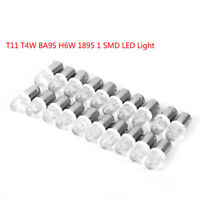 20Pcs T10 T4W BA9S H6W 1895 1SMD LED 12V Turn Signal Dashboard Marker Light Bulb